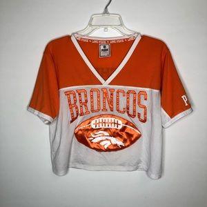 Denver Broncos jersey from Pink/Victoria Secret